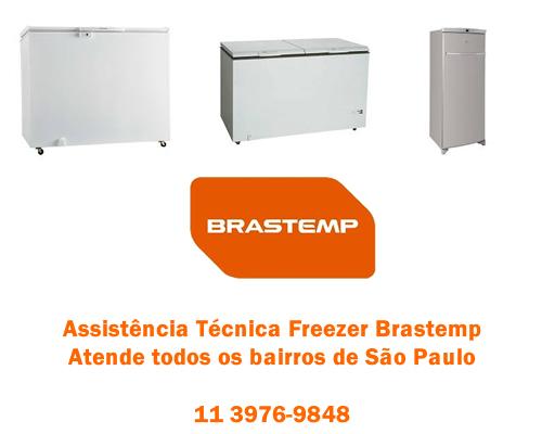 Assistência técnica freezer Brastemp