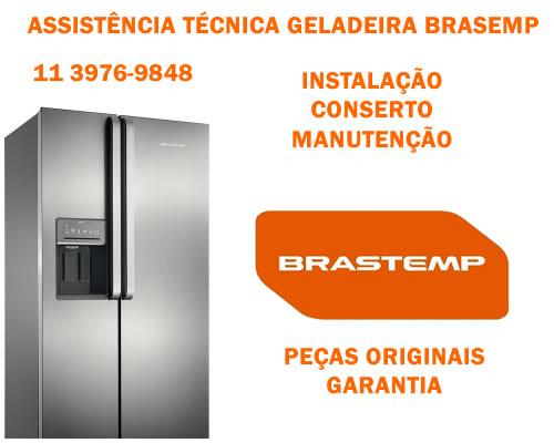 Assistência técnica geladeira Brastemp São Paulo