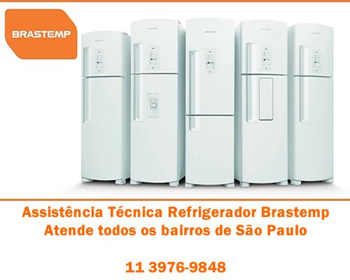 Assistência técnica refrigerador Brastemp