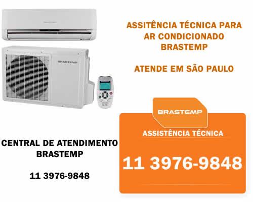 Central de atendimento ar condicionado Brastemp