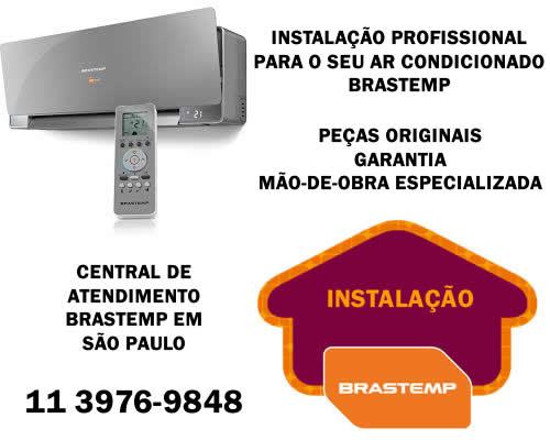 Instalação ar condicionado Brastemp