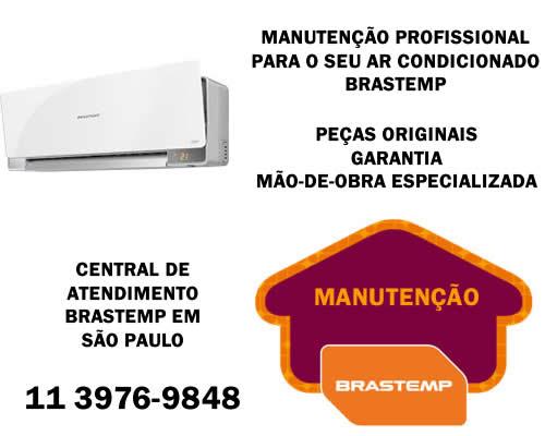 Manutenção ar condicionado Brastemp