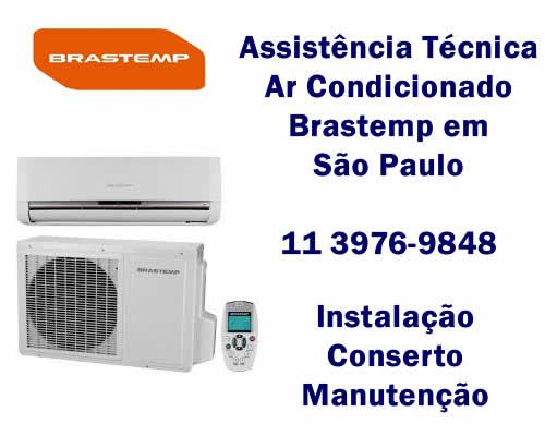 Assistência técnica ar condicionado Brastemp
