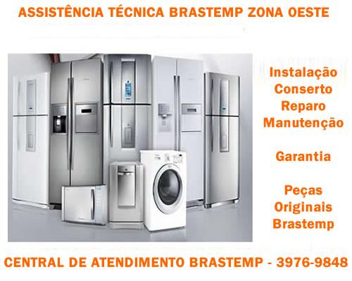 Assistência técnica Brastemp Zona Oeste São Paulo