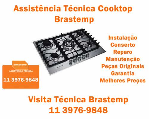 Assistência técnica cooktop Brastemp