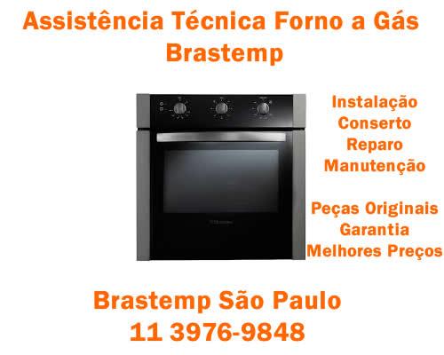 Assistência técnica forno a gás Brastemp