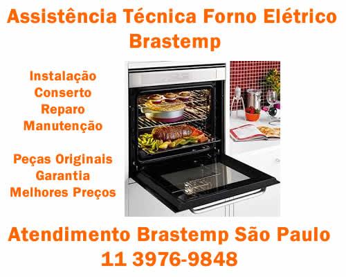 Assistência técnica forno elétrico Brastemp