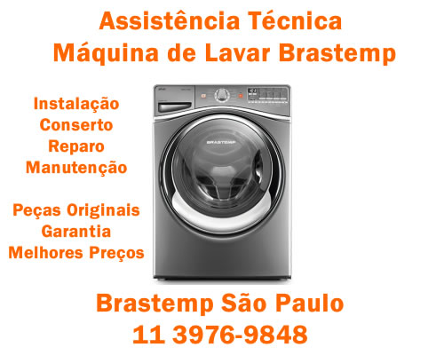 Assistência técnica máquina de lavar Brastemp