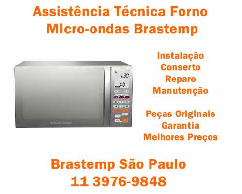 Assistência técnica micro-ondas Brastemp