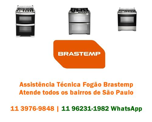Assistência técnica fogão Brastemp