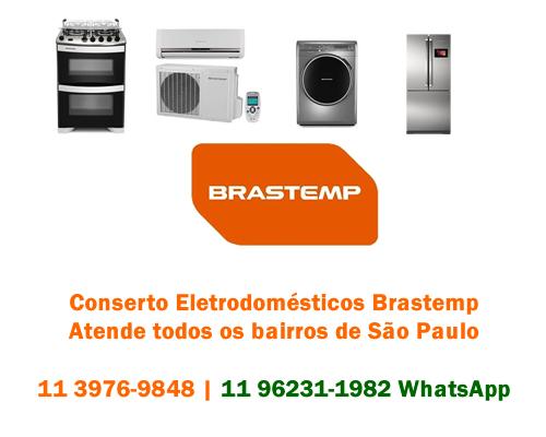 Conserto eletrodomésticos Brastemp
