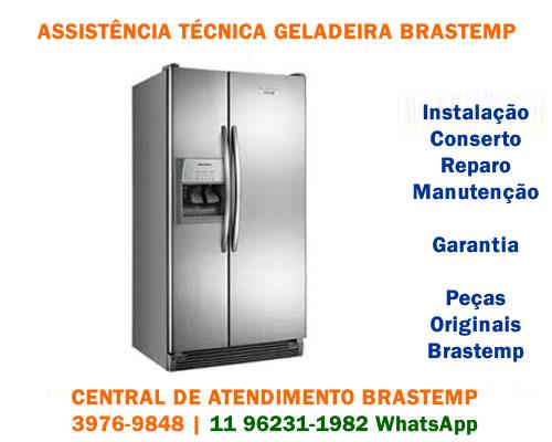 Assistência técnica geladeira Brastemp