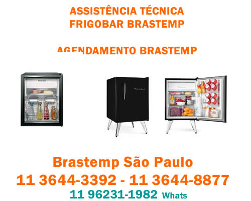 Assistência frigobar Brastemp