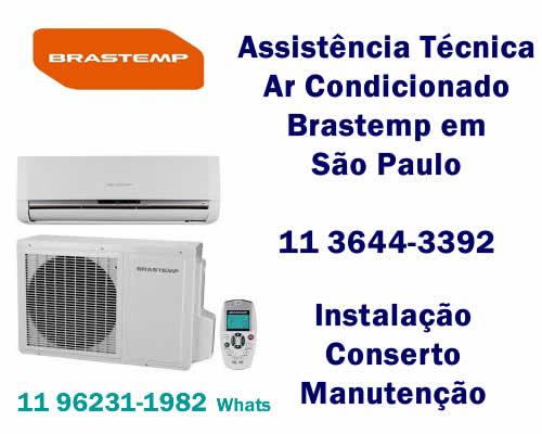 Assistência ar-condicionado Brastemp