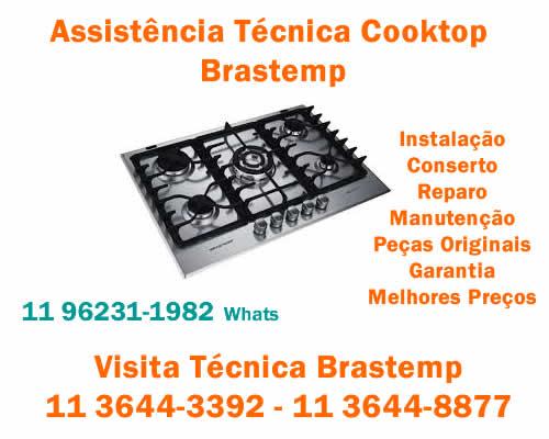 Assistência cooktop Brastemp