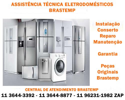 Assistência eletrodomésticos Brastemp