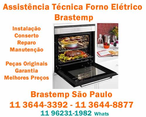 Assistência forno elétrico Brastemp