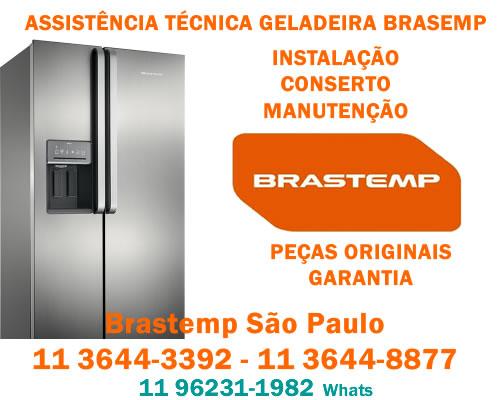 Assistência geladeira Brastemp