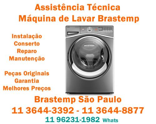 Assistência máquina de lavar Brastemp