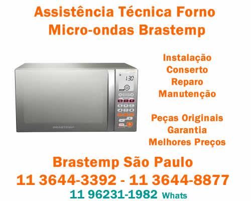 Assistência micro-ondas Brastemp