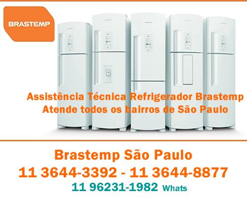 Assistência refrigerador Brastemp
