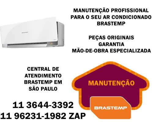 Manutenção ar-condicionado Brastemp